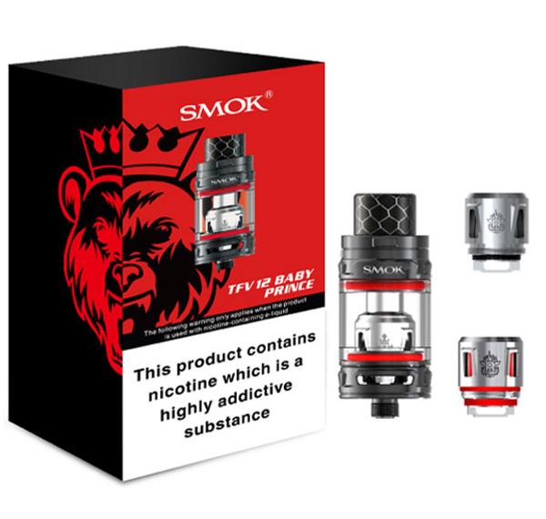 SMOK TFV12 Baby Prince Tank Packaging