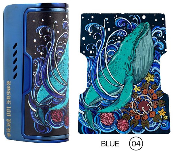 Dovpo Rogue 100 Mod Blue 04 Design