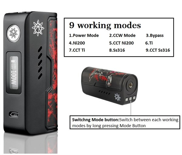 Dovpo Rogue 100 Mod Specification