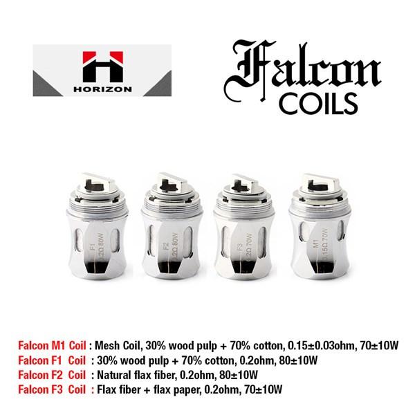 3 Pack HorizonTech Falcon Coils Heads Options