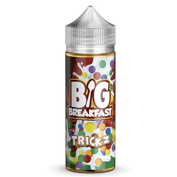 Trickz E Liquid (120ml Shortfill with 2 x 10ml nicotine shots to make 3mg) by Big Breakfast Only £19.49 (Zero Nicotine)
