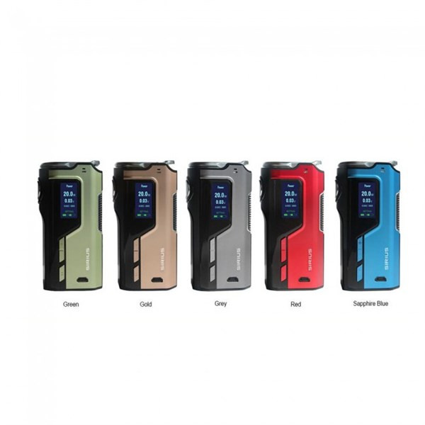 Modefined Sirius 200w Box Mod Free Delivery Colour