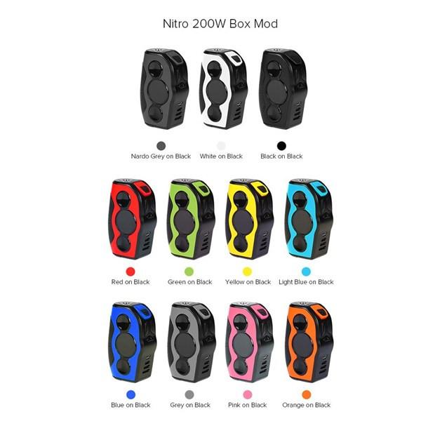 REV Nitro 200w TC Box Mod Free Delivery