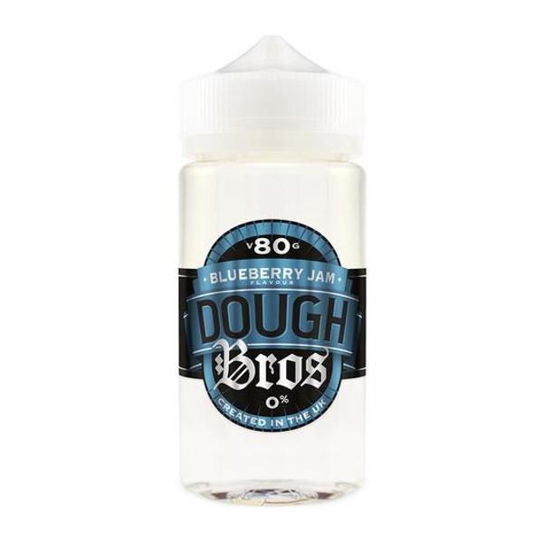 Blueberry Dough Bros E Liquid 80ml Shortfill  (100ml Shortfill with 2 x 10ml nicotine shots to make 3mg) By Dough Bros