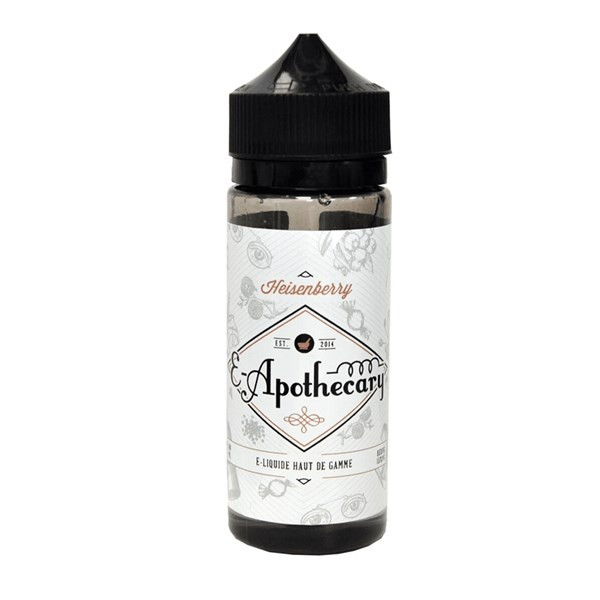Heisenberry E Liquid 100ml Shortfill by E-Apothecary (Zero Nicotine & Free Nic Shots to make 120ml/3mg)
