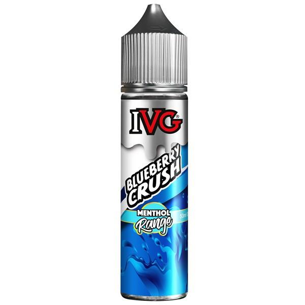 Blueberry Crush E Liquid 50ml by I VG Desserts Range Only £10.99 (Zero Nicotine)