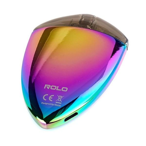 Smok Rolo Badge Pod Close Up
