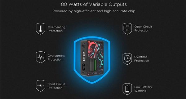 Vandy Vape Pulse BF 80w Squonk Box Mod Free Delivery