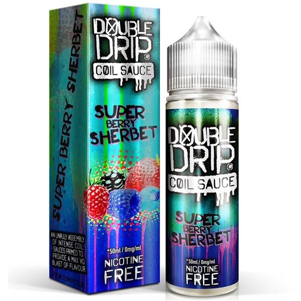 Super Berry Sherbet E Liquid 50ml by Double Drip Coil Sauce