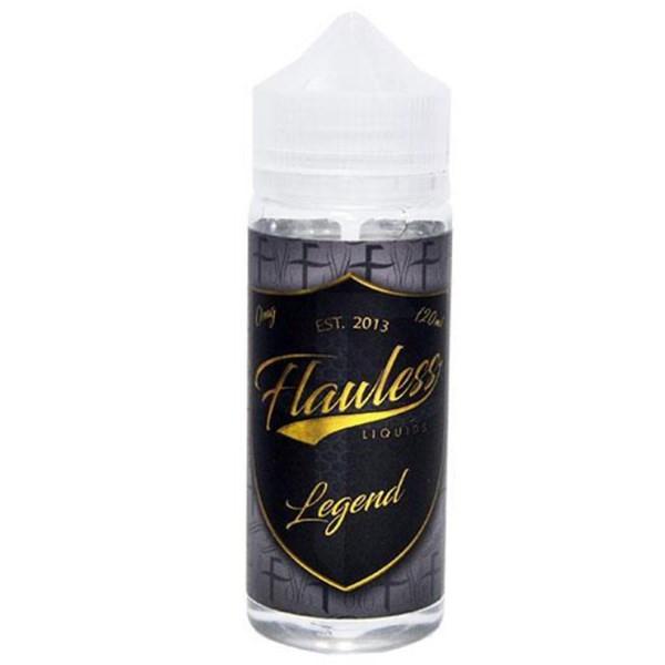 Legend E Liquid Shortfill (120ml with 2 x 10ml nicotine shots to make 3mg) by Flawless E Liquid Only £21.49 (Zero Nicotine)