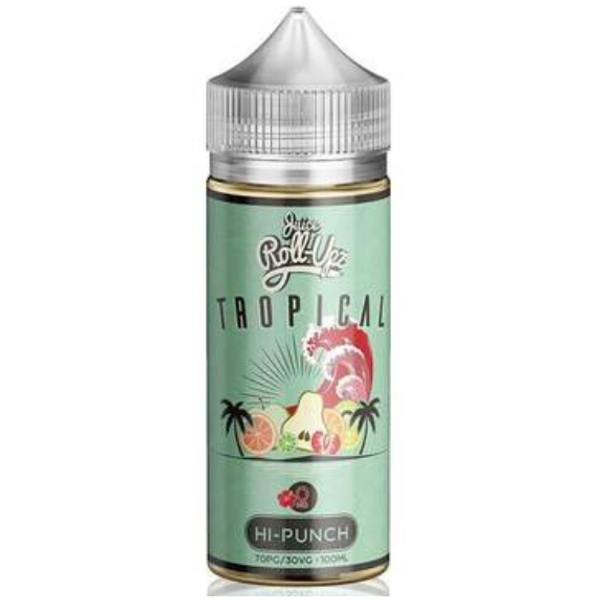 Tropical Hi Punch 80ml Shortfill (100ml Shortfill with 2 x 10ml nicotine shots to make 3mg) By Juice Roll Upz