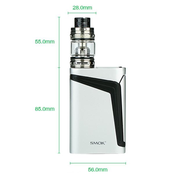 Smok V-Fin 160W Vape Kit Dimensions