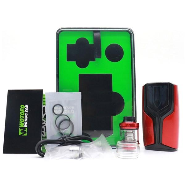 Wotofo Flux 200w Vape Kit Box Contents