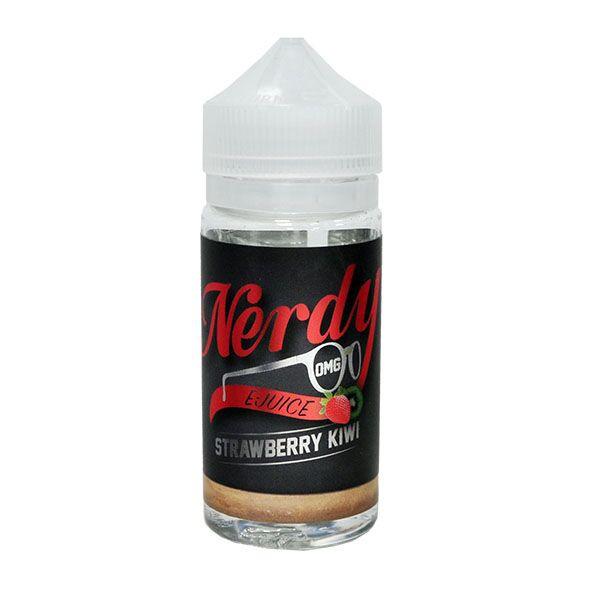 Strawberry Kiwi E Liquid 80ml Shortfill (100ml Shortfill with 2 x 10ml nicotine shots to make 3mg) By Nerdy
