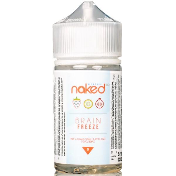 Brain Freeze E Liquid 50ml by Naked 100