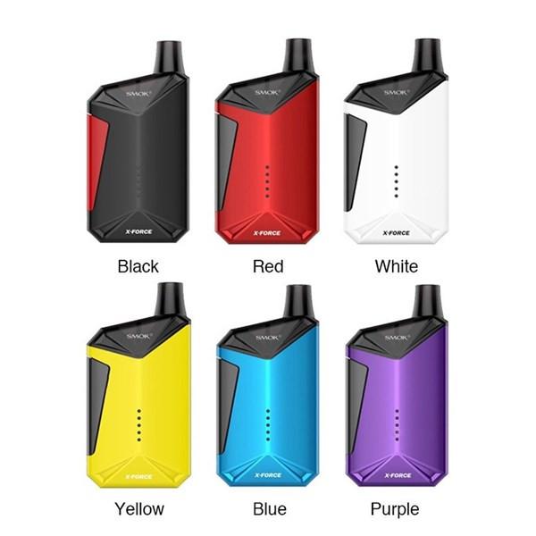 Smok X Force Pod Vaping Kit Colours