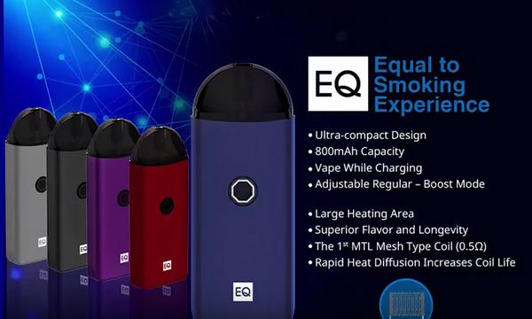 Innokin EQ Pod Mesh Coil Vape Kit Features