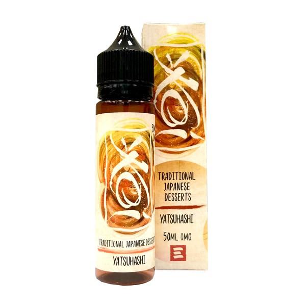 Yatsuhashi Koi E Liquid 50ml(60ml with 1 x 10ml nicotine shots to make 3mg) by Element (Zero Nicotine)