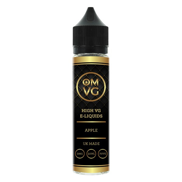 Blackcurrant Shortfill E Liquid 50ml by OMVG (FREE NICOTINE SHOT)