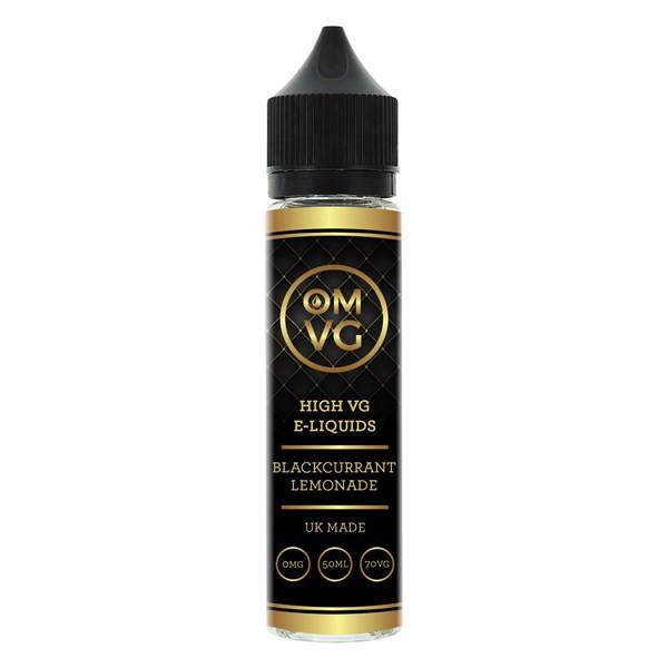 Blackcurrant & Lemonade Shortfill E Liquid 50ml by OMVG (FREE NICOTINE SHOT)