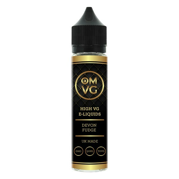Devon Fudge Shortfill E Liquid 50ml by OMVG (FREE NICOTINE SHOT)