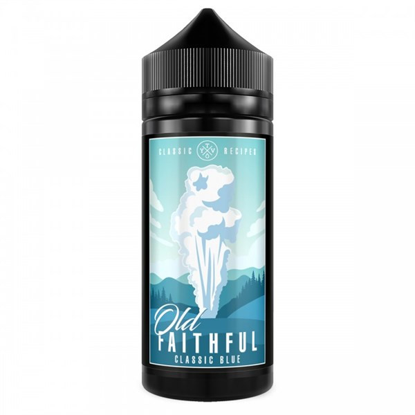 Classic Blue E Liquid 100ml(120ml with 2 x 10ml nicotine shots to make 3mg Shortfill by Old Faithful