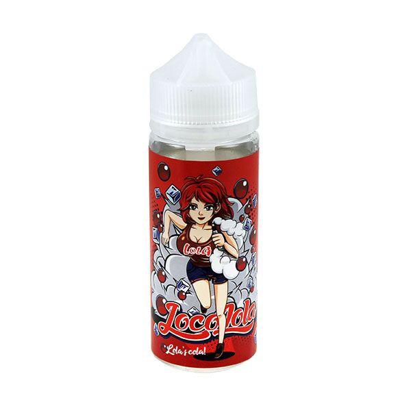 Lola's Cola E Liquid 100ml(120ml with 2 x 10ml nicotine shots to make 3mg) Shortfill by Loco Lola