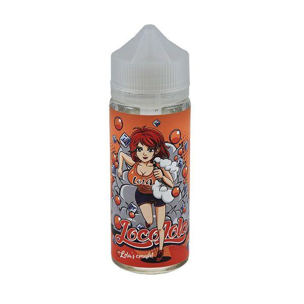 Lola's Crush E Liquid 100ml(120ml with 2 x 10ml nicotine shots to make 3mg) Shortfill by Loco Lola