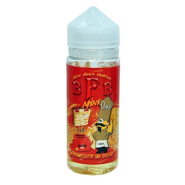 Straight Outta The Toaster E Liquid 100ml(120ml with 2 x 10ml nicotine shots to make 3mg Shortfill by BFB & Flawless