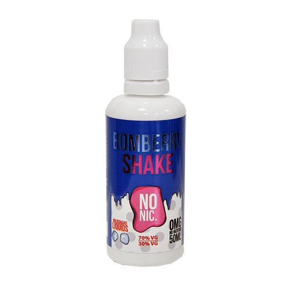 Bomberry Shake E Liquid 50ml(60ml with 1 x 10ml nicotine shots to make 3mg) Shortfill by Milkshake Liquids