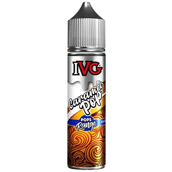 Caramel Lollipop E Liquid 50ml Shortfill by I VG Pops Only £10.99 (Zero Nicotine)