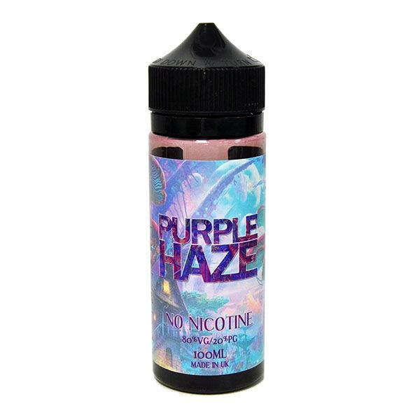 Purple Haze E Liquid 100ml Shortfill By Punk U