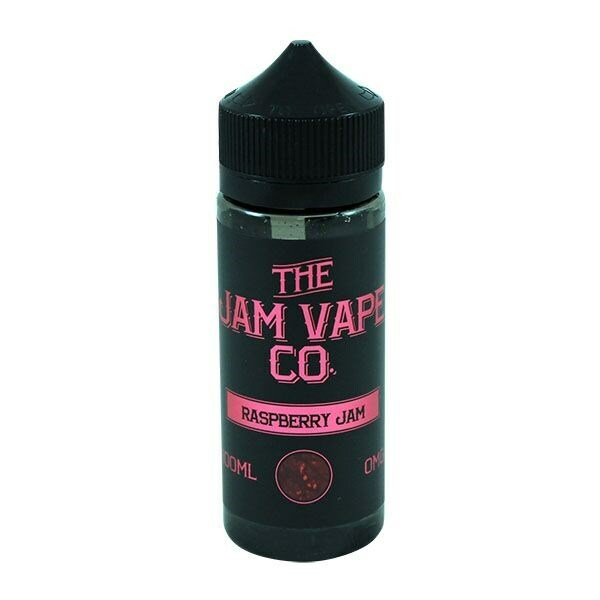 Raspberry Jam E Liquid 100ml (120ml with 2 x 10ml nicotine shots to make 3mg)Shortfill By Jam Vape Co