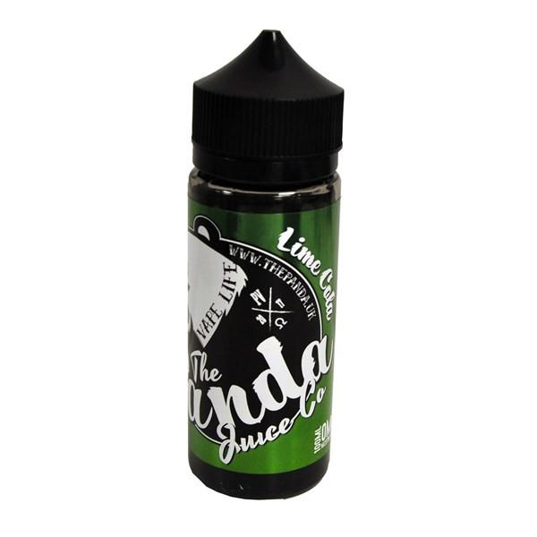 Lime Cola E Liquid 100ml (120ml with 2 x 10ml nicotine shots to make 3mg) Shortfill By The Panda Juice Co