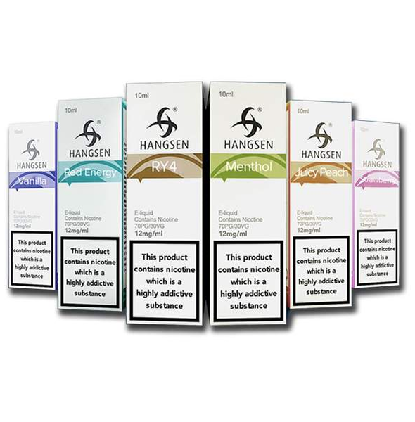 Hangsen E Liquids 5 x 10ml Variety Pack from the Atom Series