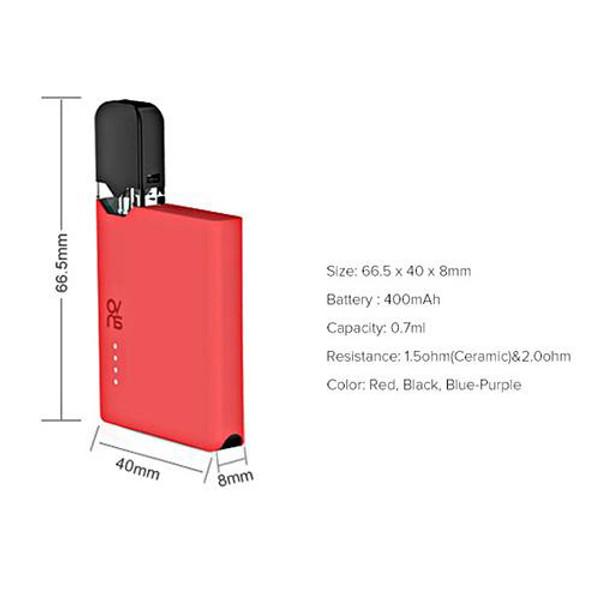 OVNS JC01 Pod Vape Kit Dimensions