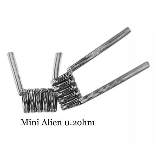 Mini Alien Prebuilt Wire Set Ni80 0.20 Ohms Coil