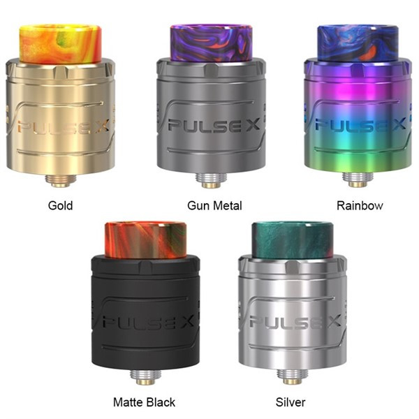 Vandy Vape Pulse X BF RDA Colour Options