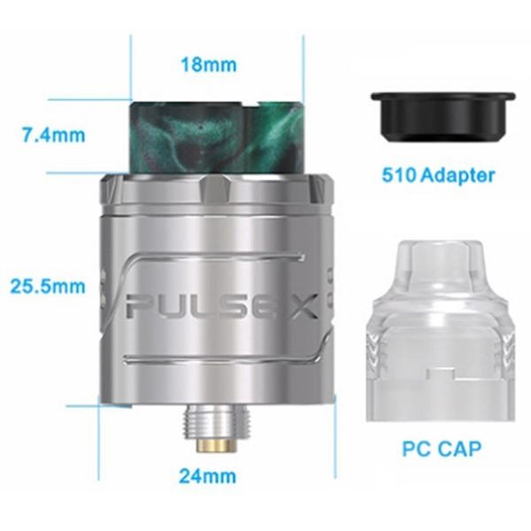 Vandy Vape Pulse X BF RDA Dimensions