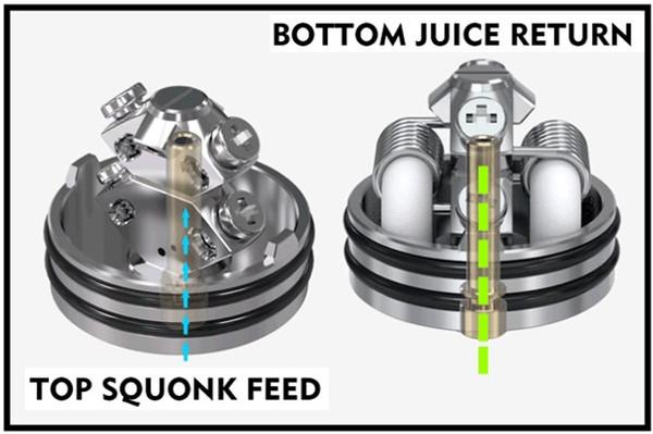 Vandy Vape Pulse X BF RDA Squonk Feed