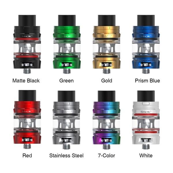 SMOK TFV8 Baby V2 Tank Colours