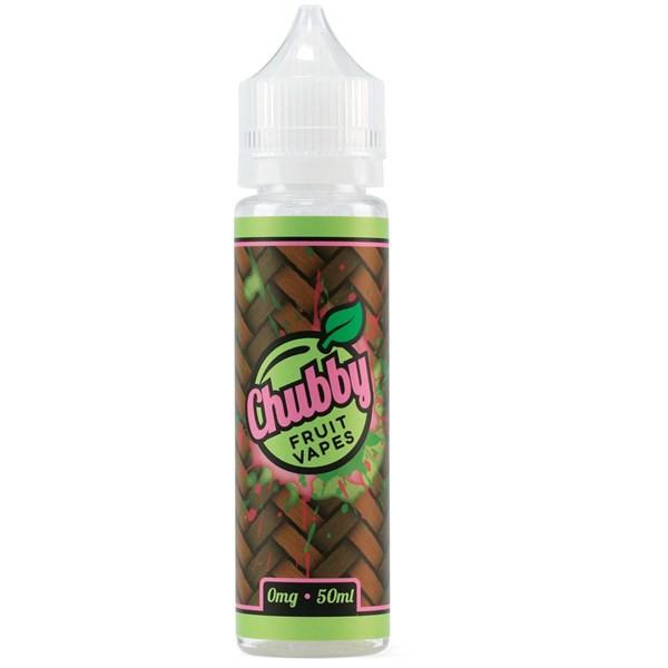 Kiwi Melon E Liquid 50ml (60ml/3mg if nicotine shot added) by Chubby Fruit Vapes (FREE NICOTINE SHOTS)