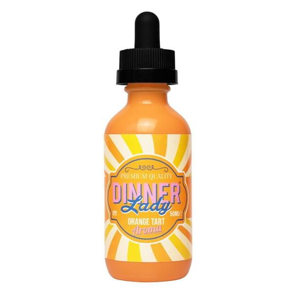 Orange Tart Aroma E Liquid 50ml (60ml with 1 x 10ml nicotine shots to make 3mg) Shortfill by Dinner Lady