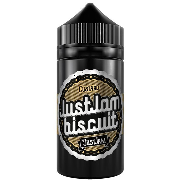 Biscuit Custard E Liquid 80ml Shortfill (100ml Shortfill with 2 x 10ml nicotine shots to make 3mg) By Just Jam