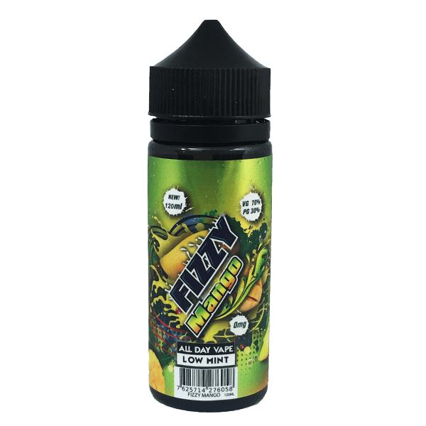 Fizzy Mango E Liquid 100ml Shortfill (120ml with 2 x 10ml nicotine shots to make 3mg) by Mohawk & Co E Liquids Only £13.49 (FREE NICOTINE SHOTS)