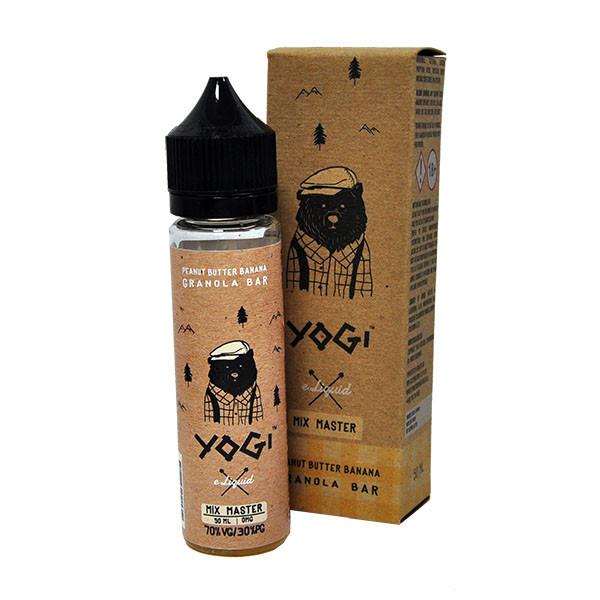 Peanut Butter Banana Granola Bar E Liquid 50ml (60ml with 1 x 10ml nicotine shots to make 3mg) Shortfill by Yogi