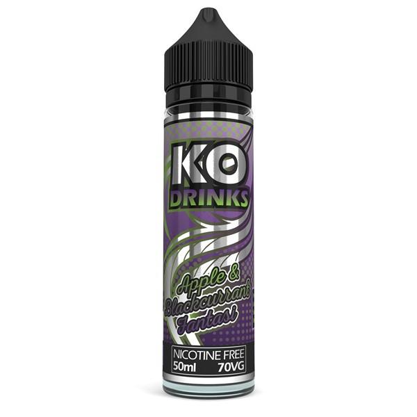 Apple & Blackcurrant Fantasi E Liquid 50ml by KO Vapes (Includes Free Nicotine Shot)