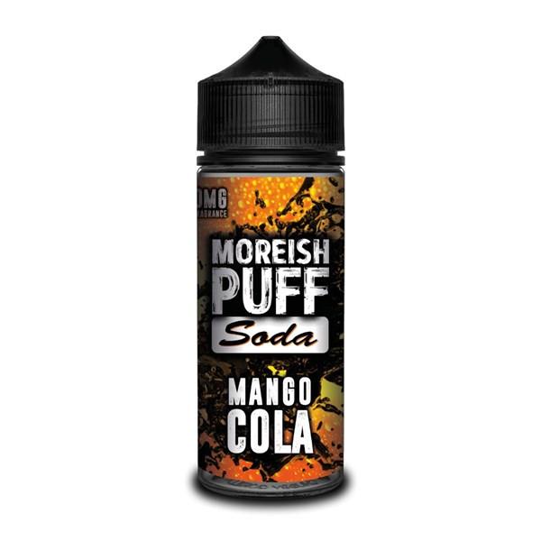 Mango Cola E Liquid (Zero Nicotine & Free Nic Shots to make 120ml/3mg) by Moreish Puff