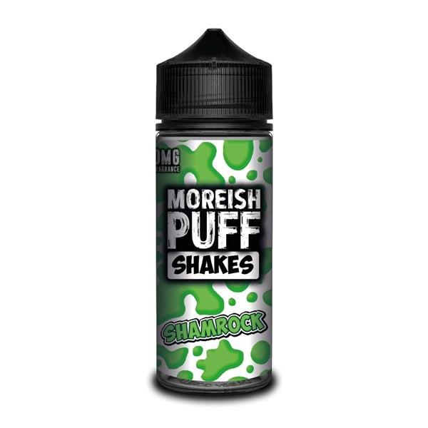 Shamrock Shakes E Liquid (Zero Nicotine & Free Nic Shots to make 120ml/3mg) by Moreish Puff