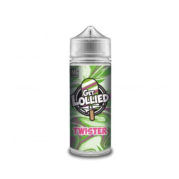 Twister E Liquid (Zero Nicotine & Free Nic Shots to make 120ml/3mg) by Get Lollied